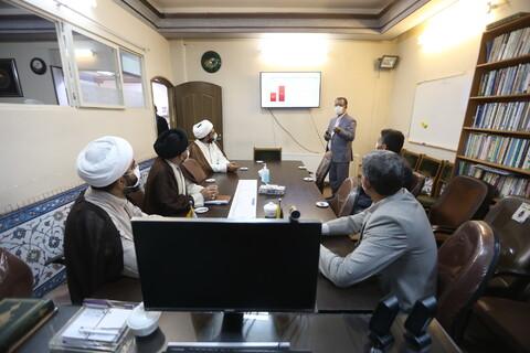 تصاویر/ بازدید معاون منابع انسانی و پشتیبانی حوزه های علمیه از خبرگزاری حوزه