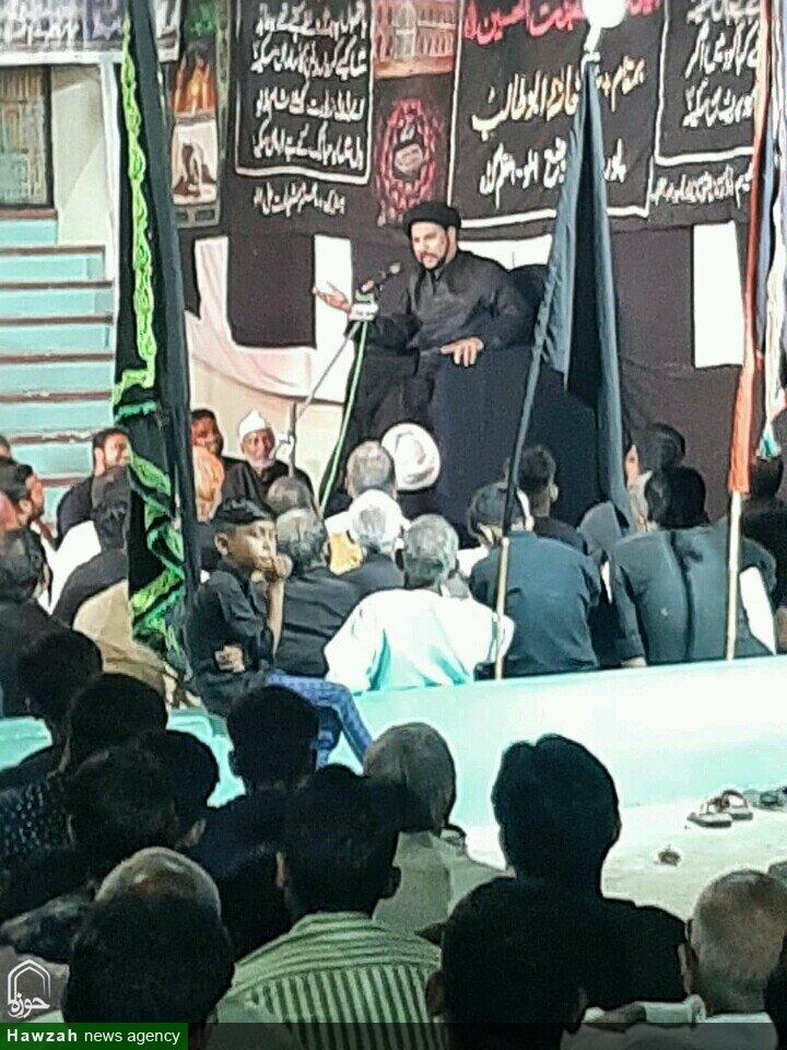 جو امام حسینؑ کی نصرت کرتے ہیں تو امام حسین (ع) بھی ان کی مدد کرتے ہیں، مولانا سید ندیم اصغر رضوی