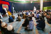 تصاویر/ مراسم بزرگداشت مرحوم علامه حسن زاده آملی در مسجد حضرت زینب (س) شهرک زین الدین قم