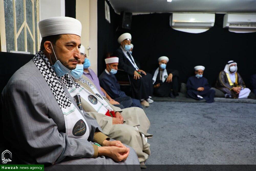 نجف اشرف پہلے بھی فلسطین کے ساتھ تھا اور مستقبل میں بھی ساتھ رہے گا،مسجد اقصی کو ہم آزاد کرائیں گے، آیت اللہ العظمی حافظ بشیر نجفی