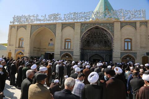 تصاویر/ مراسم تشییع حجت الاسلام والمسلمین حاج ابوالقاسم طاهری
