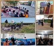 فعالیت گروه تبلیغی انوار الزهراء در برخی شهرهای استان گلستان