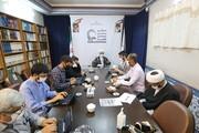 تصاویر/ نشست خبری تشریح برنامههای «نمایشگاه دستاوردهای علمی واحدهای آموزشی تخصصی حوزوی»