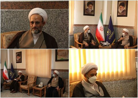 دیدار مسئول سازمان بسیج اساتید، طلاب و روحانیون کشور با مدیر حوزه های علمیه خواهران