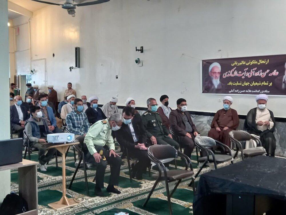 بزرگداشت آیت الله محمدی تاکندی در تاکستان برگزار شد