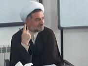 جلسه آموزشی دانش پژوهان سطح ۳ مشاوره اسلامی حوزه علمیه کاشان برگزار شد