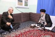 تصاویر/ دیدار وزیر ورزش با حضرت آیت الله علوی گرگانی
