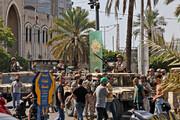 ۸ کشته و ۶۰ زخمی در پی تیراندازی در مقابل دادگستری بیروت + تصاویر