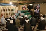 تصاویر/ حضور امامان محله خوزستان در معراج شهدا و زیارت شهدای تازه تفحص شده