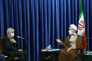 تصاویر / دیدار وزیر ورزش و جوانان با آیت الله اعرافی