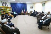 تصاویر / دیدار اعضای ستاد امر به معروف و نهی از منکر کشور با آیت الله اعرافی