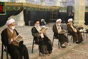 تصاویر / مراسم ترحیم آیت الله سید محمد حسینی کاهانی در قم