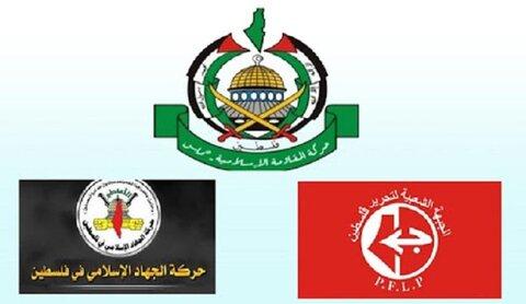 الفصائل الفلسطينية تستنكر العدوان الاسرائيلي على سورية