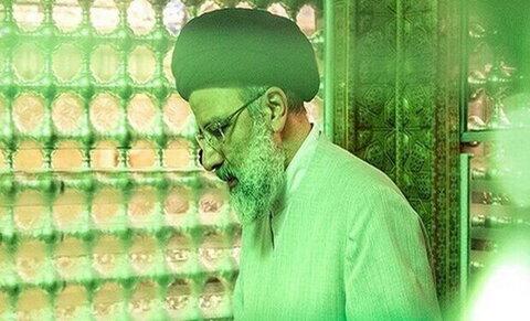 تشرف رئیس جمهور به حرم مطهر شاهچراغ(ع)