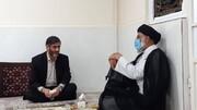 دیدار سعید محمد با نماینده ولیفقیه در خوزستان