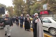 تصاویر/ دسته عزاداری در خوی به مناسبت شهادت امام حسن عسکری (ع)