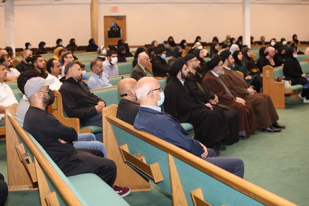 برگزاری مراسم شهادت امام حسن عسکری(ع) در میشیگان آمریکا+تصاویر
