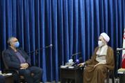 تصاویر / دیدار وزیر بهداشت با آیت الله اعرافی