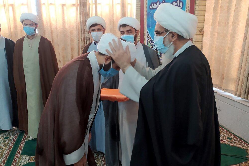 تصاویر  مراسم عمامه گذاری طلاب بوشهر