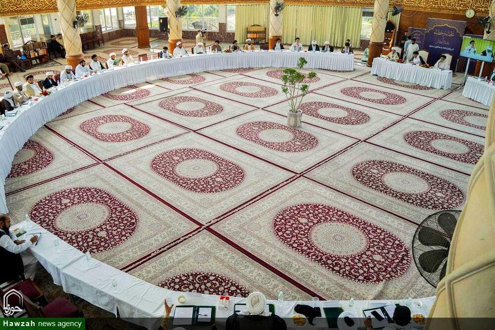 تصاویر/ جامعہ الکوثر اسلام آباد میں علماء و خطباء کا نمائندہ اجلاس