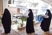 تصاویر/ تجدید بیعت طلاب خواهر ارومیه با امام زمان (عج)