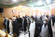 گزارشی از مراسم تکریم و معارفه مسئول دفتر قم مؤسسه تنظیم و نشر آثار امام خمینی(ره)