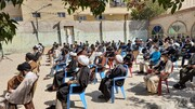 تصاویر | تجمع طلاب و روحانیون یاسوج در حمایت از مردم افغانستان