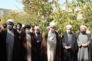 تصاویر / محکومیت جنایات داعش در افغانستان توسط طلاب و روحانیون قزوین