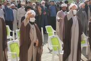 تصاویر/ اجتماع طلاب و روحانیون خوی در حمایت از مردم مظلوم افغانستان
