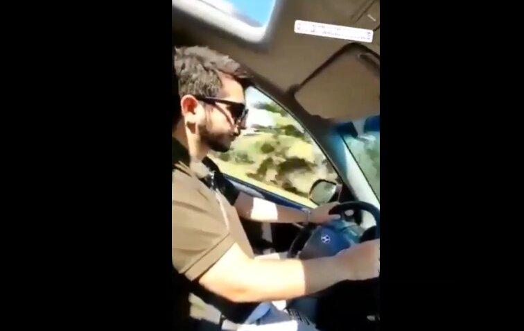 تفریح پسر آقای رئیس با ماشین بیت المال + فیلم و واکنش ها