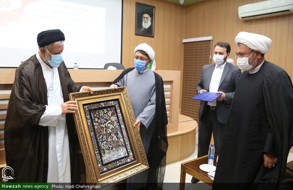 تصاویر / مراسم تکریم و معارفه مسئول دفتر قم موسسه تنظیم و نشر آثار امام خمینی (ره)