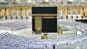 مسجد الحرام اور مسجد نبوی میں سماجی فاصلے کے بغیر نماز ادا کی گئی