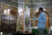 هنر نقاشی ۱۴۰۰ سال به اهلبیت(ع) بدهکار است