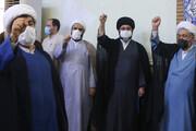 فریاد خونخواهی مردم افغانستان در تجمع حوزویان اهواز