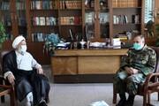 دیدار امیر سرتیپ حیدری با رئیس سازمان عقیدتی سیاسی ارتش