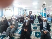 تصاویر/ نشست روحانیون طرح هجرت و مستقر بیجار در جهت تحقق بیانیه گام دوم انقلاب اسلامی