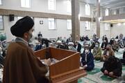 تصاویر/ مراسم گرامیداشت هفته وحدت در مسجد جامع اهل سنت ارومیه