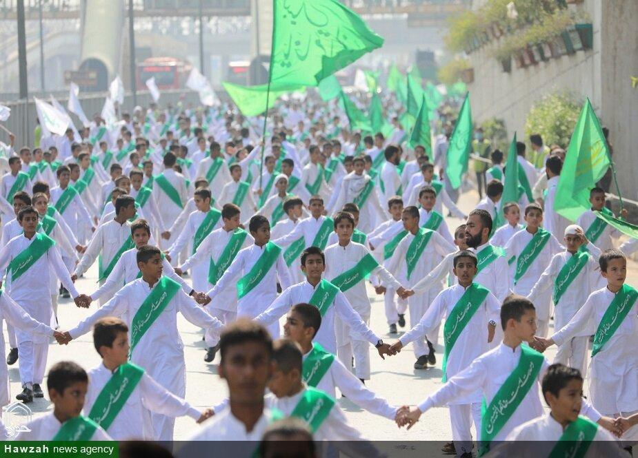 راهپیمایی «امت واحده» در لاهور پاکستان برگزار شد