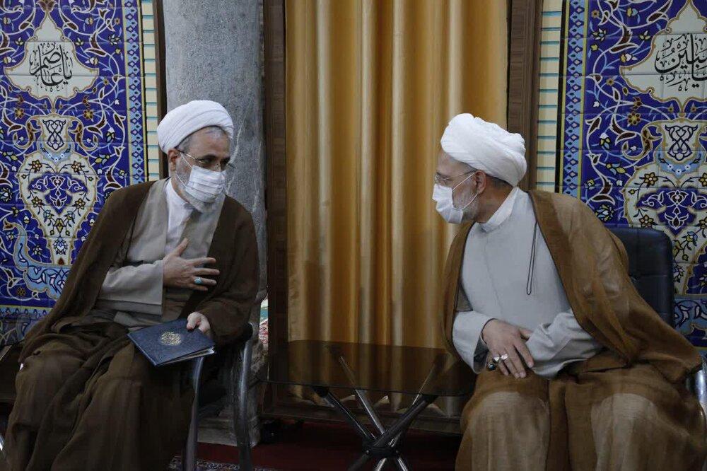 تصاویر/ مراسم هفتمین سالگرد آیت الله مهدوی کنی(ره) در مدرسه علمیه مروی تهران