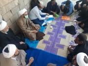 حضور رییس دفتر تبلیغات اسلامی خوزستان در مناطق زلزلهزده اندیکا + عکس