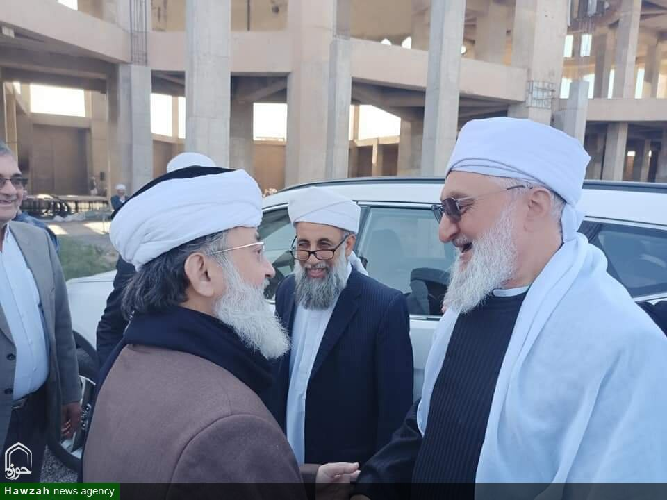 تصاویر/ مولانا سلمان ندوی کا ایران میں اہلسنت مساجد و مدرسہ کا دورہ