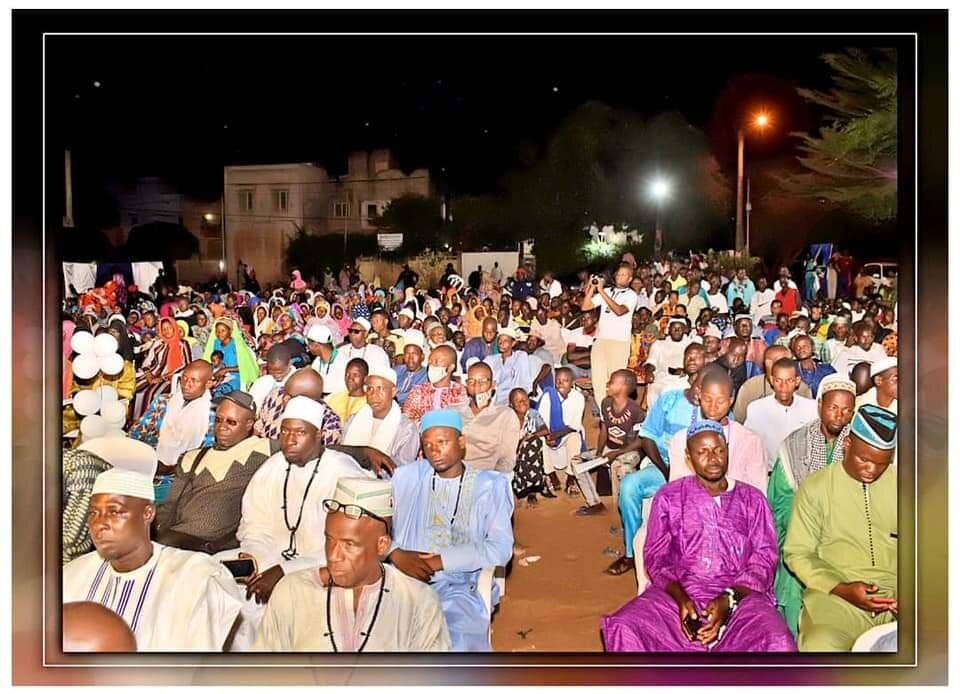 جشن مولد النبی (ص) در شهر واگادوگو کشور بورکینافاسو برگزار شد +تصاویر