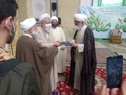 آیت الله طه محمدی از امامت جماعت مسجد انصارالمهدی(عج) جنت آباد خداحافظی کرد