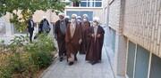 بازدید سرزده آیت الله اعرافی از مدرسه علمیه امام صادق(ع) زنجان + عکس
