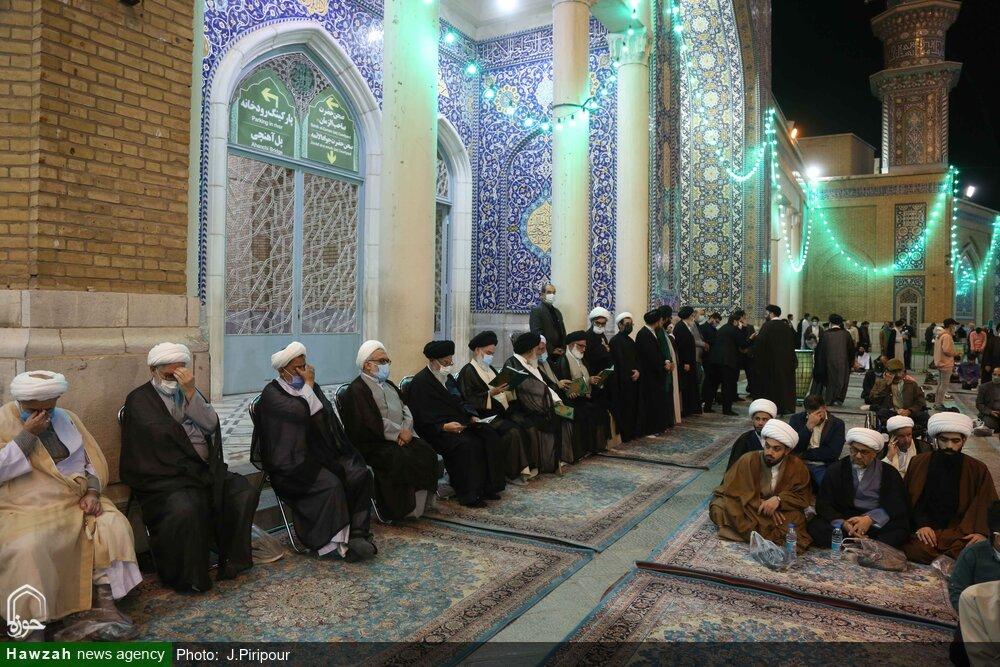 تصاویر/ مراسم بزرگداشت آیتالله سید عباس مدرسی یزدی(ره) در مسجد اعظم قم