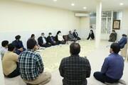 دیدار شهردار و اعضای شورای شهر با امام جمعه اهواز+ عکس