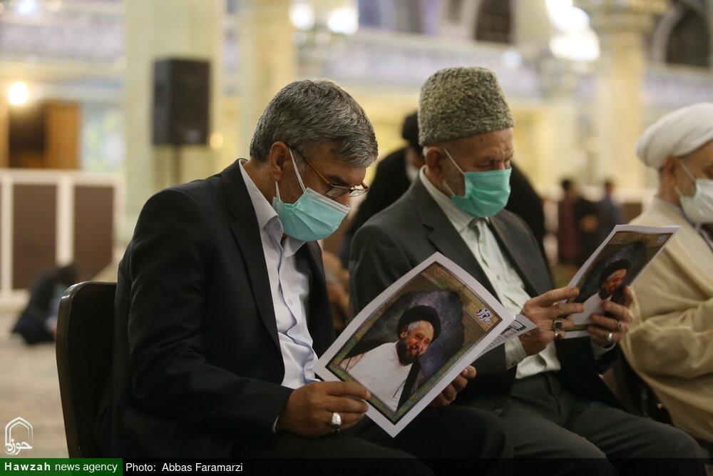 تصاویر/ مرحوم حجۃ الاسلام والمسلمین سید قاضی نیاز حسین نقوی کی قم المقدسہ میں پہلی برسی