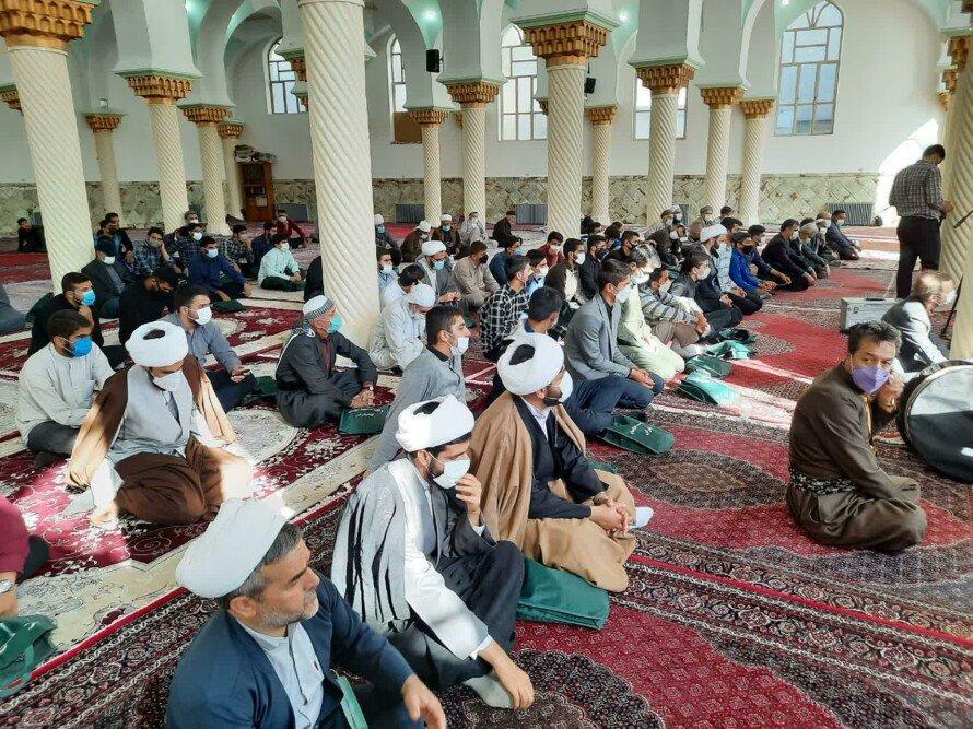 تصاویر/ همایش وحدت علما و روحانیون شهرستان کامیاران