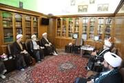 بازدید مدیر حوزه های علمیه خواهران از مدرسه علمیه مروی تهران + عکس