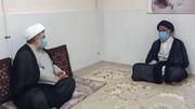 دیدار قضات جدیدالورود دستگاه قضا با نماینده ولی فقیه در خوزستان + عکس